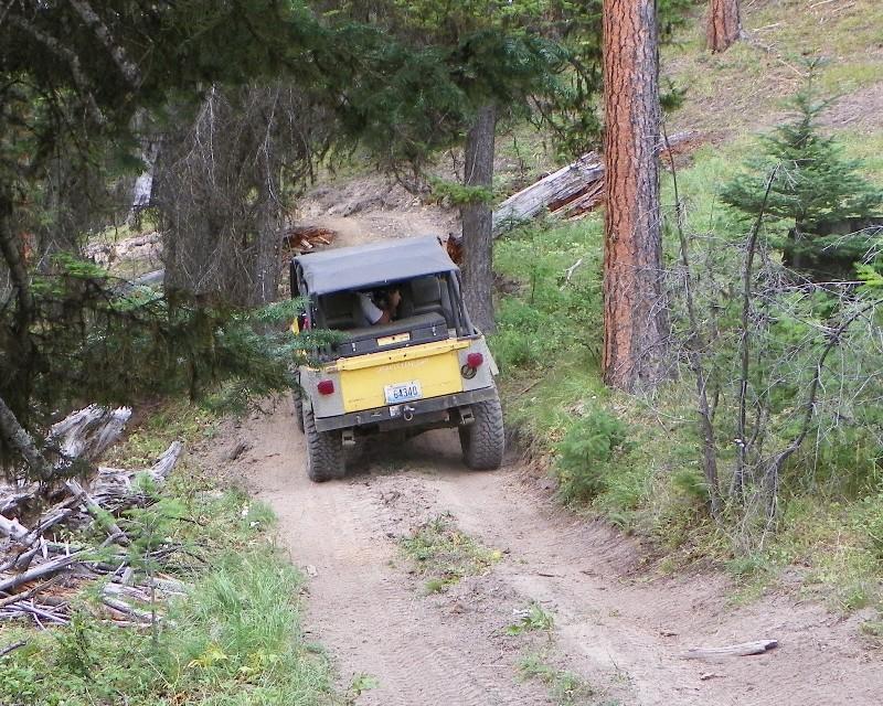 Photos: Yellow Jeep Run - Little Rattlesnake 4