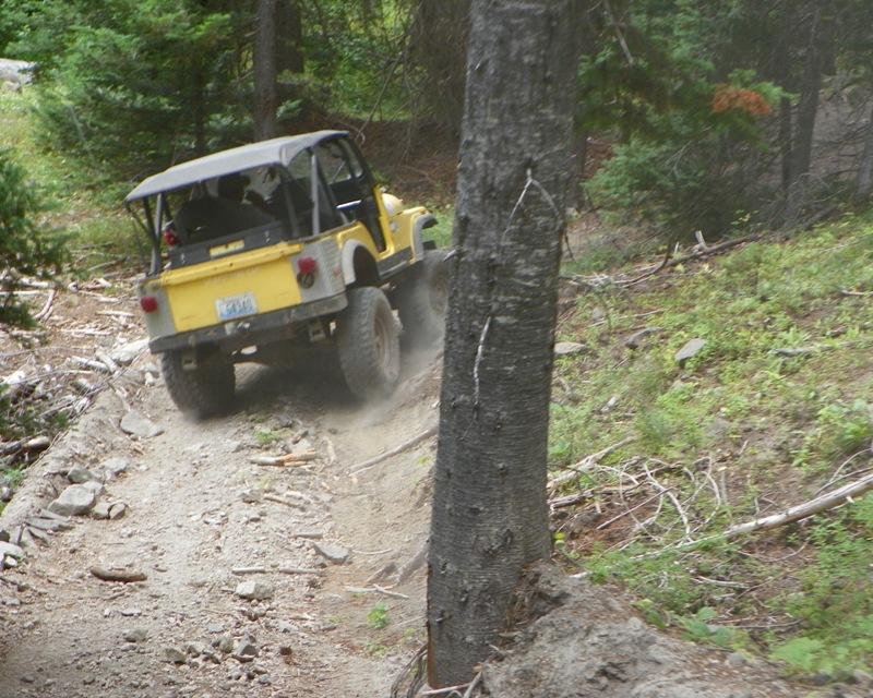 Photos: Yellow Jeep Run - Little Rattlesnake 16