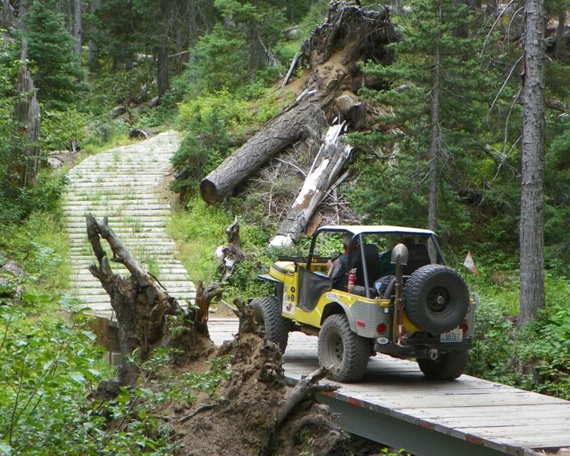 Photos: Yellow Jeep Run - Little Rattlesnake 20