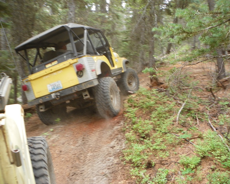 Photos: Yellow Jeep Run - Little Rattlesnake 29