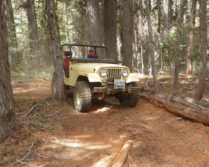 Photos: Yellow Jeep Run - Little Rattlesnake 39