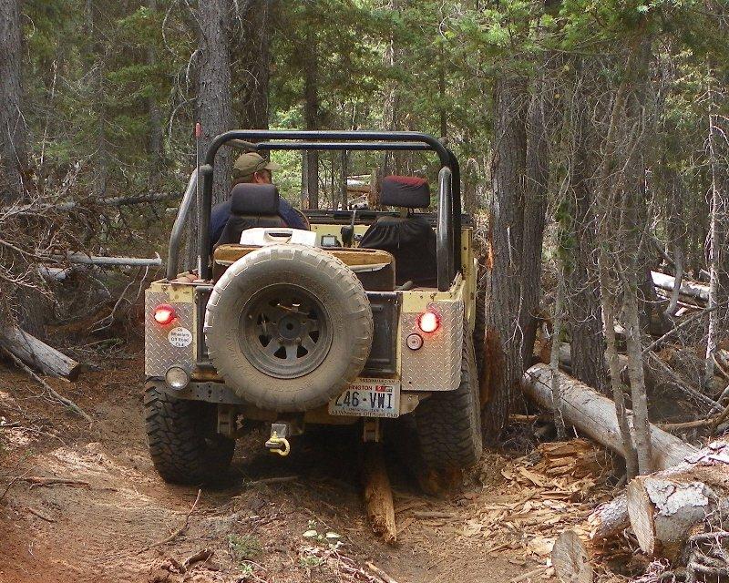 Photos: Yellow Jeep Run - Little Rattlesnake 44