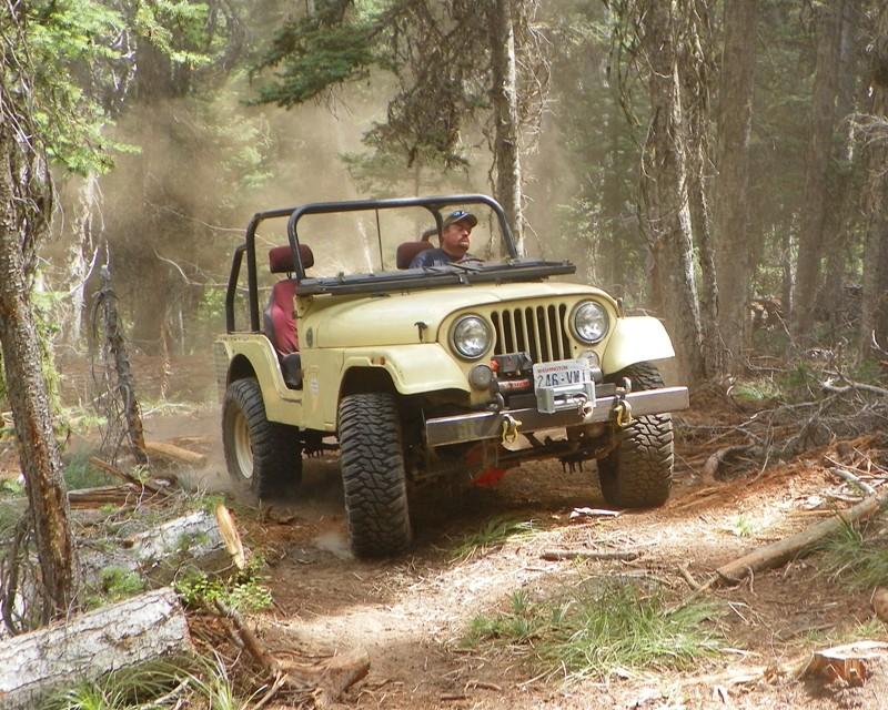 Photos: Yellow Jeep Run - Little Rattlesnake 48