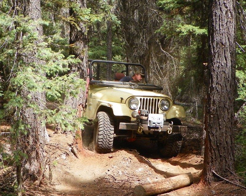 Photos: Yellow Jeep Run - Little Rattlesnake 55
