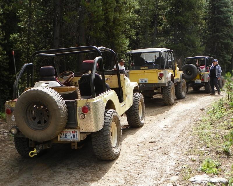 Photos: Yellow Jeep Run - Little Rattlesnake 63