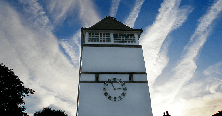 The-Pleasaunce-Clock-Tower