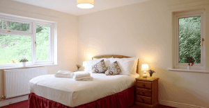 large double bedroom with bedside cabinets