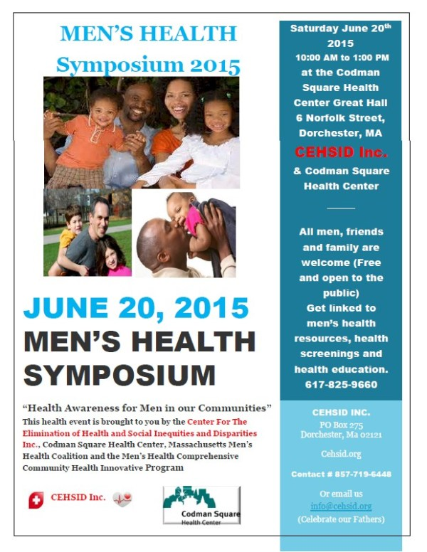 Men's Health Symposium – CEHSID.org