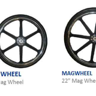 Variance in 4 sizes Mag wheels