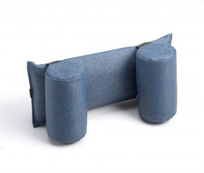 Neckrest with Round Bolsters