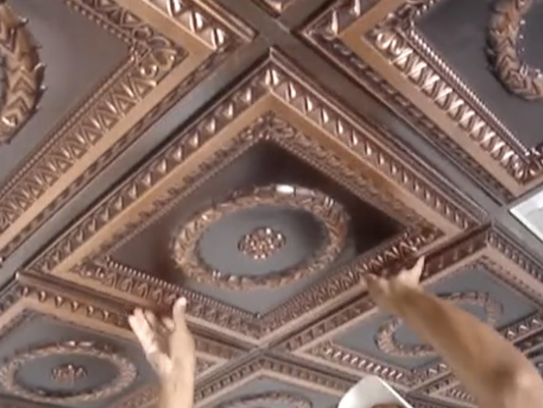 Project Calculator Installation Instructions For 24 X Drop In Faux Tin Ceiling Tiles Ceilingdecorating Com