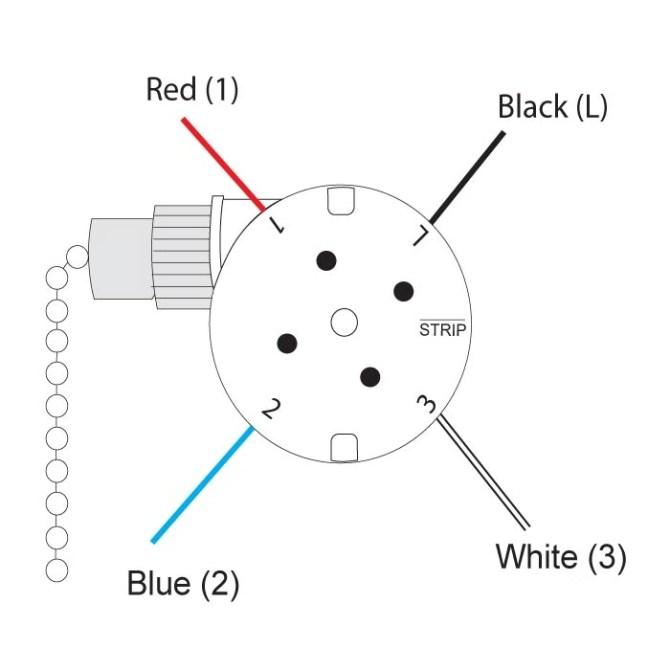 zing ear ze208s e89885 3 speed 4 wire fan switch