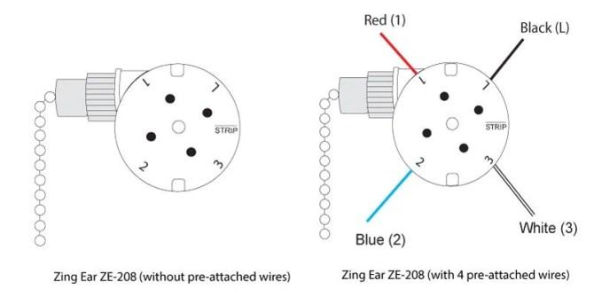 zing ear fan switch 3 way wiring diagram  tow package