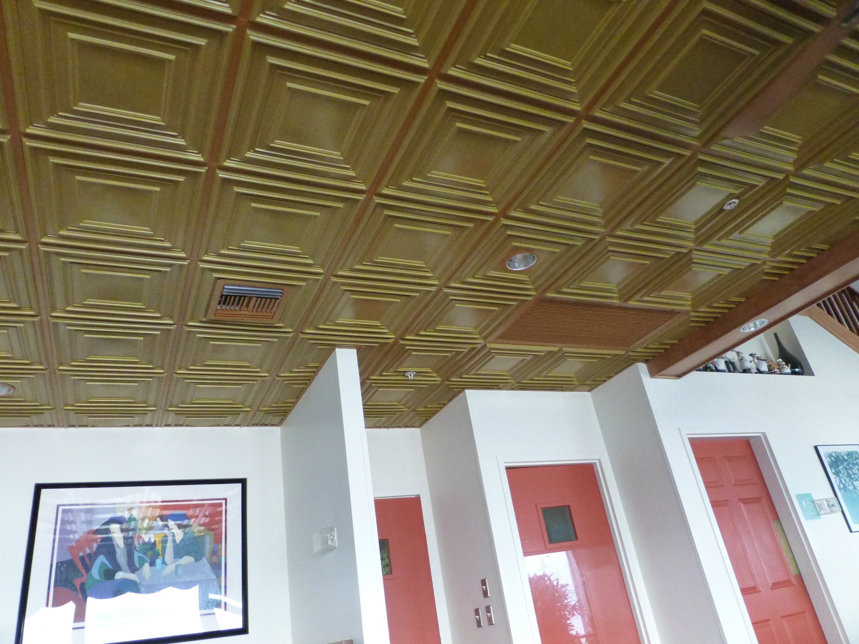 Ceiling Tiles By Us Pvc Tiles Grid Suspended