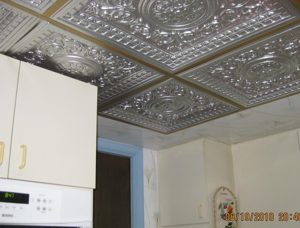 PVC Ceiling Tiles Grid Suspended