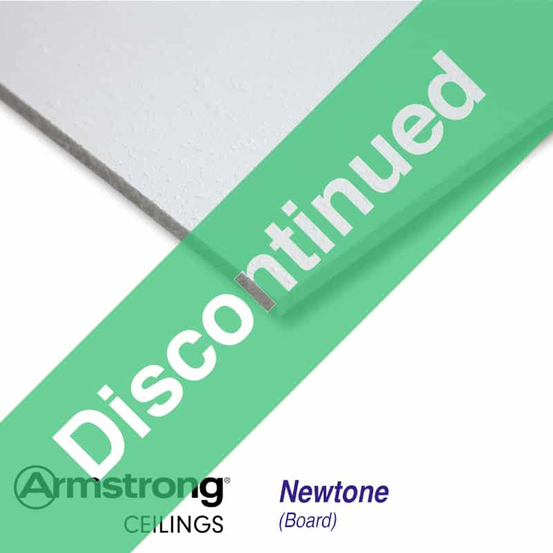 armstrong newtone board bp1201m 600 x 600mm square edge ceiling tiles