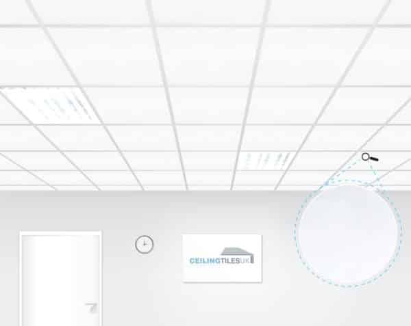 armstrong ultima plus board bp7661m 600 x 600mm square edge ceiling tiles
