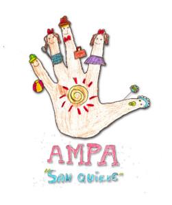 Logotipo del AMPA San Quiles de Campohermoso