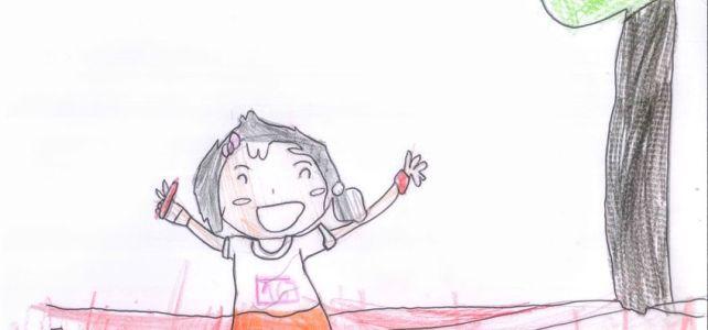 Dibujo ganador para el cartel de la VI san Isidro