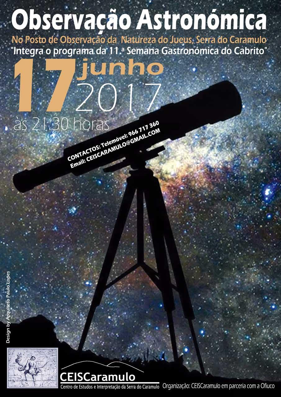 Sessão de Observação Astronómica