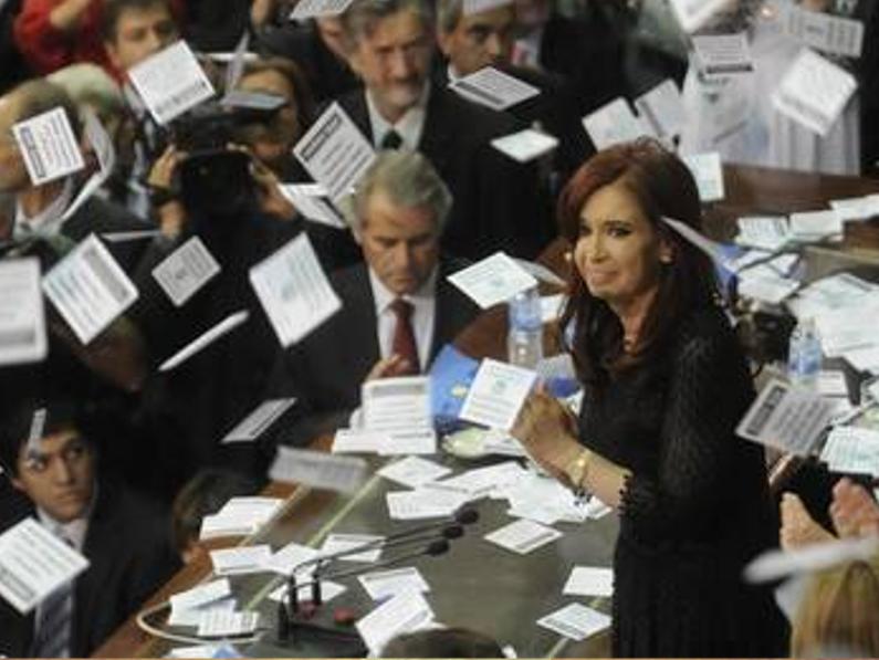 Apuntes sobre el discurso de Cristina Fernández en el Congreso -por Alfredo Serrano, Agustín Lewit, Gisela Brito