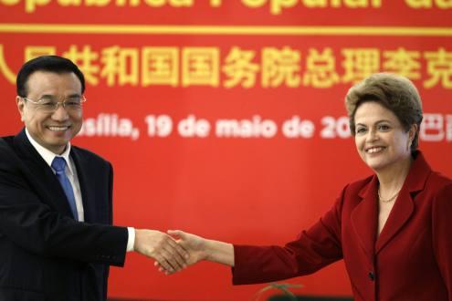Brasil y China firman acuerdos estratégicos