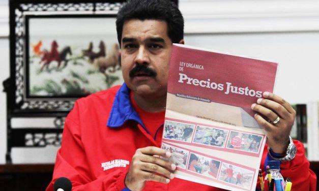 """""""Venezuela contra la guerra económica: control de precios y aumento de los salarios"""""""