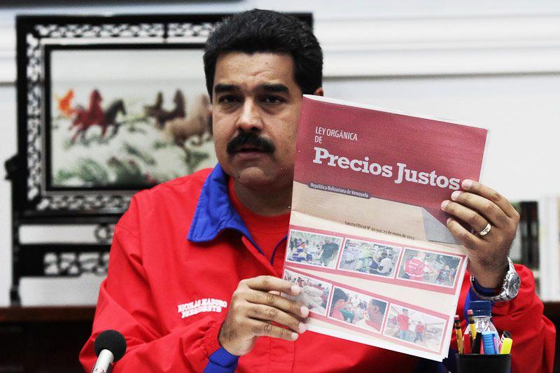 Resultado de imagen para venezuela control de precios