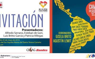 """Presentación del libro """"Cambio de época: voces de América Latina"""""""