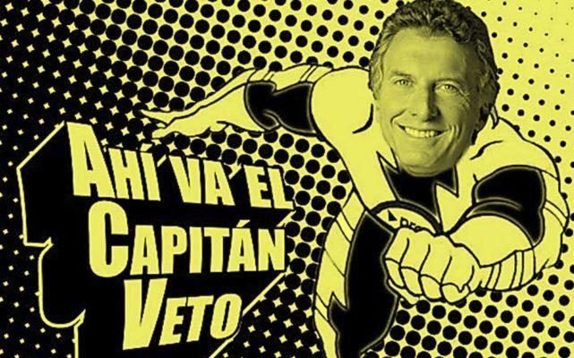Crónicas del Capitán Veto (por Sabrina Flax)