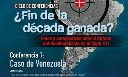 Ciclo de Conferencias ¿Fin de la década ganada?