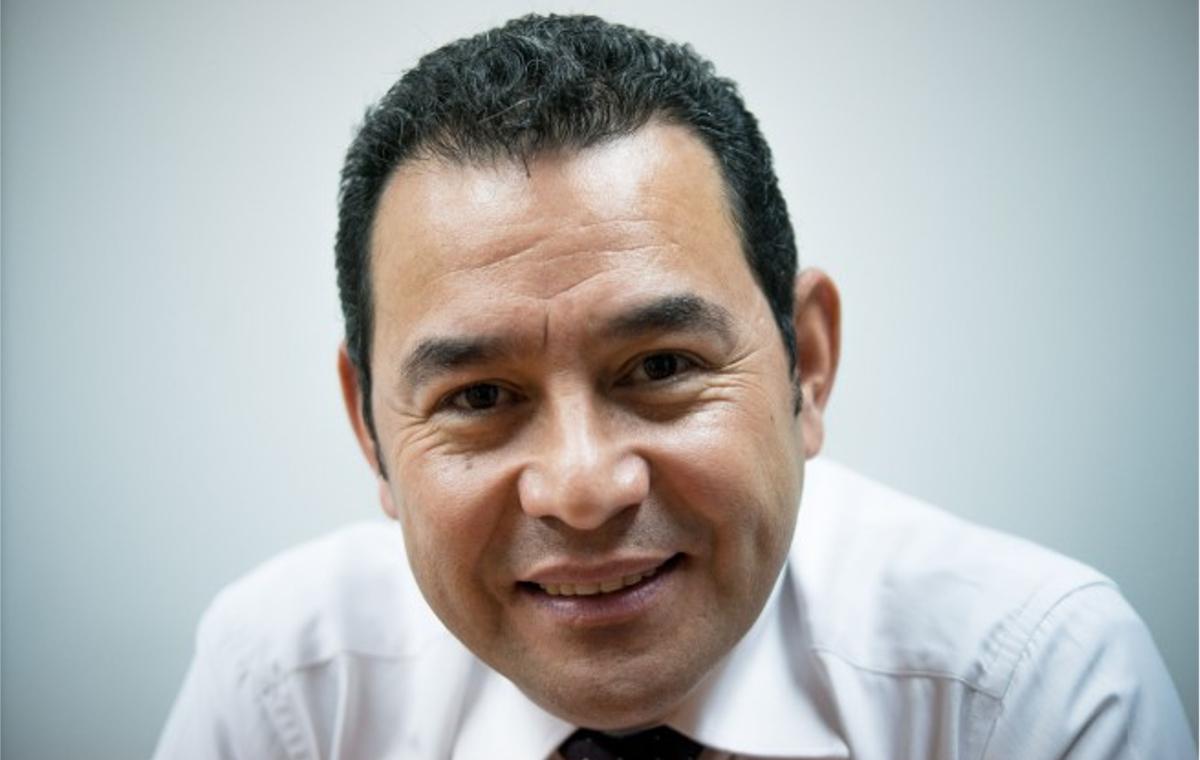 Jimmy Morales (Guatemala)