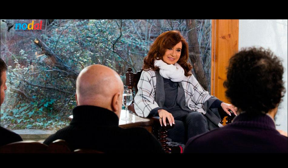 """Entrevista a Cristina Fernández de Kirchner: """"No estuve de prestada en el sillón de la Casa Rosada"""""""