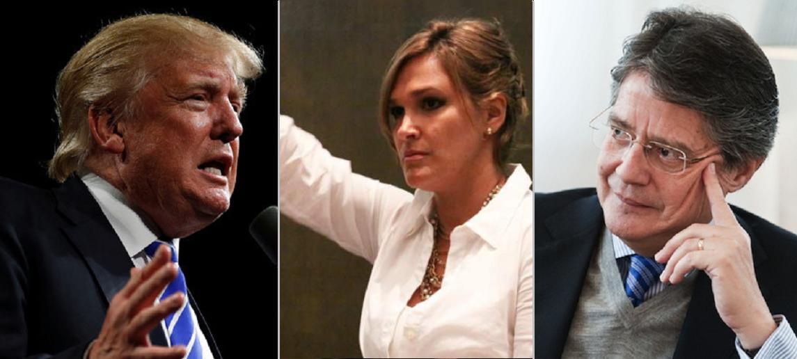 ¿Por quién votaría Trump en Ecuador?