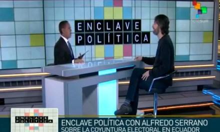 Alfredo Serrano Mancilla Análisis Elecciones Ecuador 2017