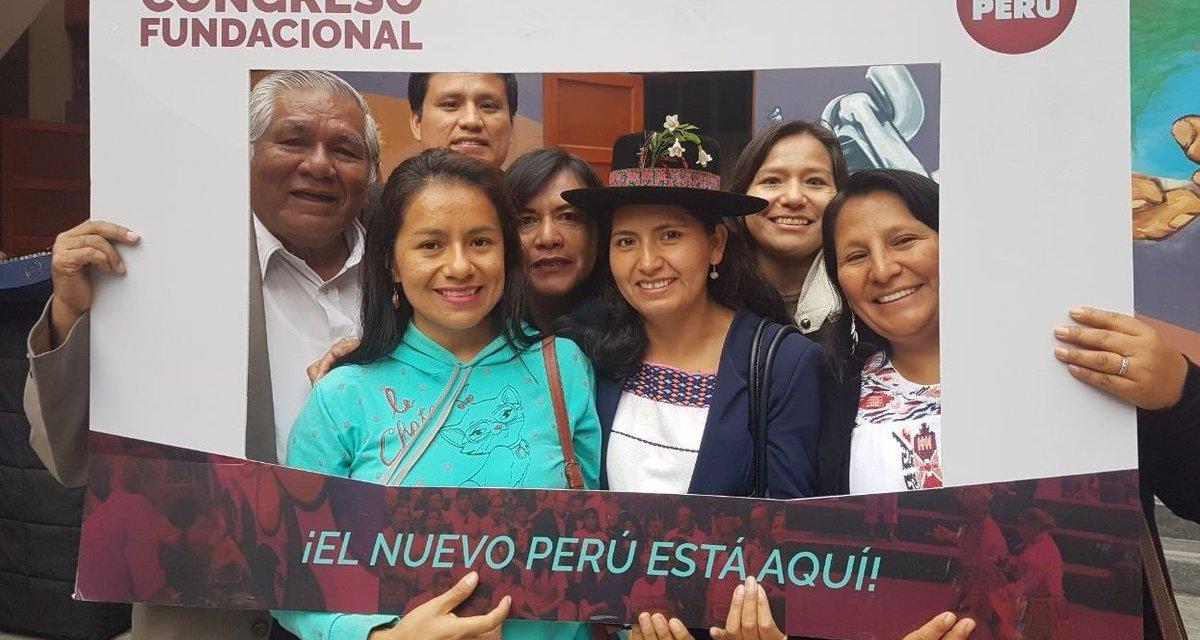 Verónika Mendoza, una alternativa progresista: Movimiento Nuevo Perú