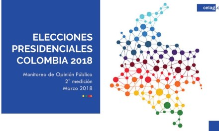 COLOMBIA. ELECCIONES PRESIDENCIALES 2018: Segunda encuesta de opinión