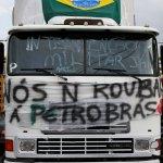 Paro camionero, Petrobrás y la recesión económica en Brasil