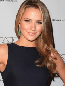 Shantel VanSanten height and weight 2014