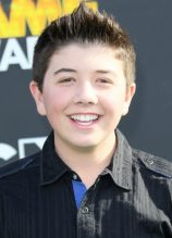 Bradley Steven Perry Chest Biceps size