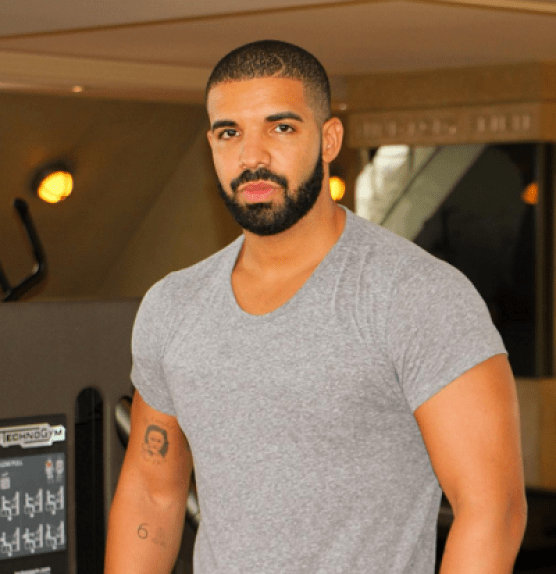 Drake Chest Biceps size