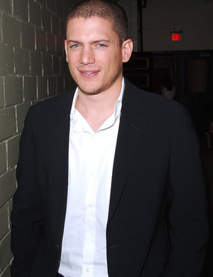 Wentworth Miller Chest Biceps size