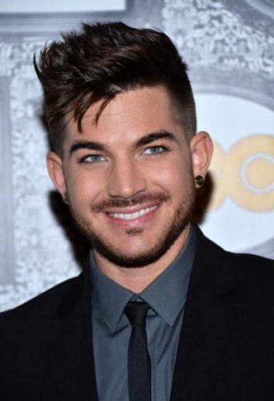 Adam Lambert Chest Biceps size
