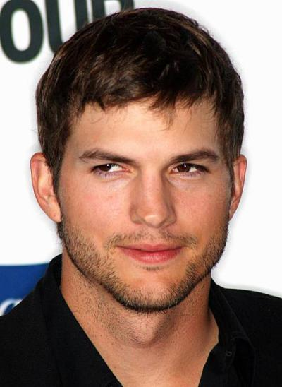Ashton Kutcher Chest Biceps size