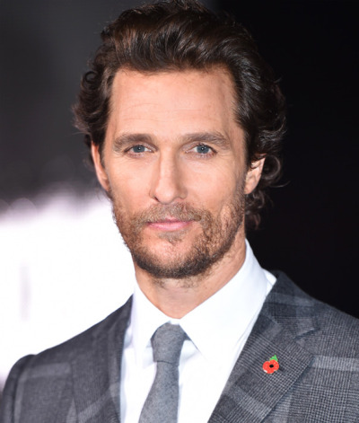 Matthew McConaughey height and weight 2016