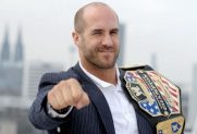 Cesaro Chest Biceps size