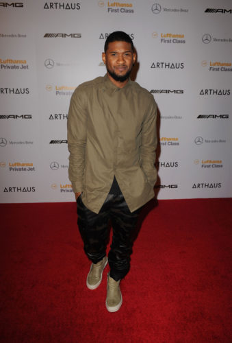 Usher girlfriend age biography