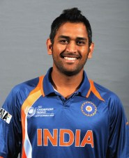 MS Dhoni Chest Biceps size
