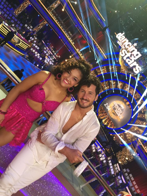 Laurie Hernandez Dancing With The Stars Cha Cha Video