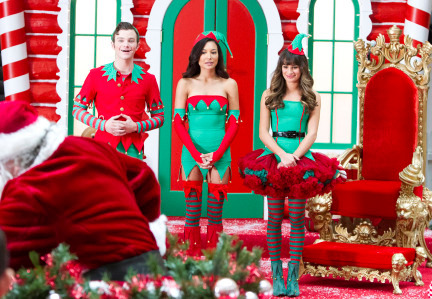 if you thought last weeks episode was at an all time low glee puts it all out there for their christmas episode glee not only has sexy elves costumes - Last Christmas Glee